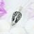 Tree of Life Argentiium Sterling Silver Pendant; Tree of Life; Seraphinite Wire