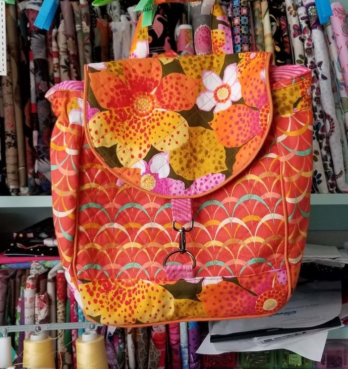 The Savannah Backpack Purse