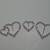 Heart Rhinestone Set