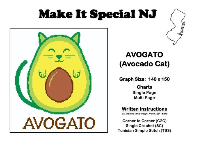 Avogato (Avocado Cat)
