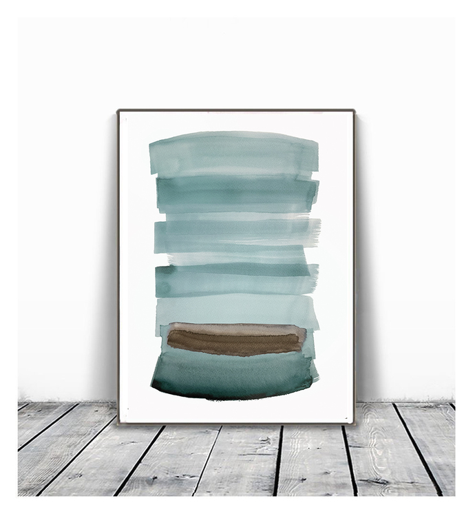 Digitat abstract, contemporary art, scandinavian ,set of 2 PRINTABLE , Abstract