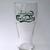 Carlsberg Beer Embossed 3D Green Logo Pint Glass - New Unused