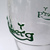 Carlsberg Beer Embossed 3D Green Logo Pint Glass - New Unused