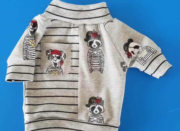 SMALL  pirate pals cotton tee