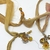 Boho Gypsy Silk Sari Ribbon Bookmark Sunrise Amber TOPAZ Yellow medallion | Book
