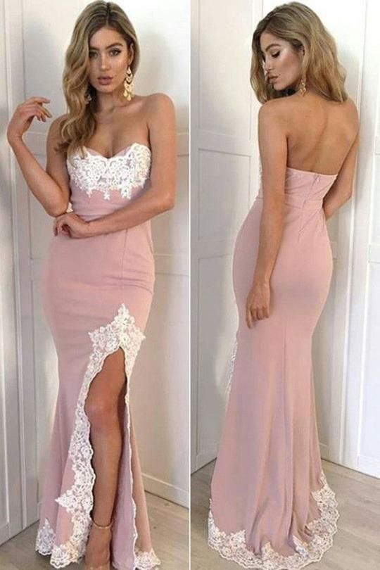 Sexy Sweetheart Mermaid Prom Dresses,Long Prom Dresses,Cheap Prom Dresses,