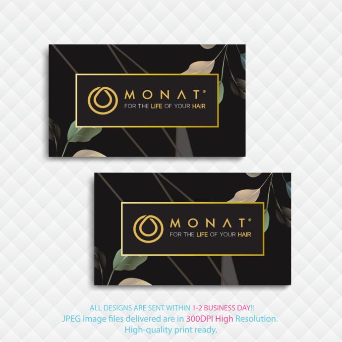 Custom Monat Business Cards, Personalized Monat Business Cards, Monat Business
