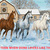 Horses In Snow Cross Stitch Pattern***LOOK*** ***INSTANT DOWNLOAD***