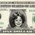 SHIRLEY TEMPLE on a REAL Dollar Cash Bill Money Collectible Memorabilia
