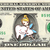 TOOTH FAIRY on a REAL Dollar Bill Money Cash Collectible Memorabilia Novelty