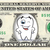 TOOTH FAIRY on REAL Dollar Bill Cash Money Collectible Memorabilia Novelty