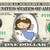 TOOTH FAIRY on a REAL Dollar Bill Cash Money Novelty Collectible Memorabilia