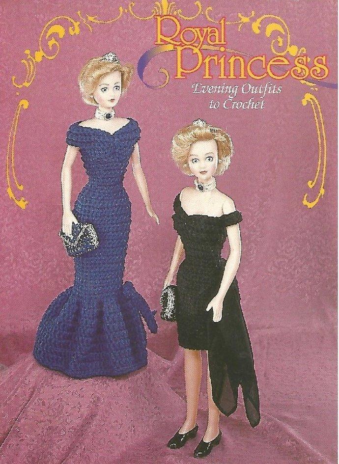 Instant PDF Digital Download Vintage Crochet Pattern Teenage Fashion Doll Doll's