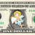 TOOTH FAIRY on a REAL Dollar Bill Cash Money Memorabilia Novelty Collectible