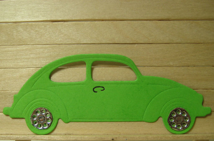 Volkswagen Car Auto Metal Cutting Die for Scrapbooking