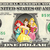 Disney Princess Ariel Belle Aurora on a REAL Dollar Bill Disney Cash Money