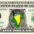 Michigan J Frog Merrie Melodies on a REAL Dollar Bill Cash Money Memorabilia
