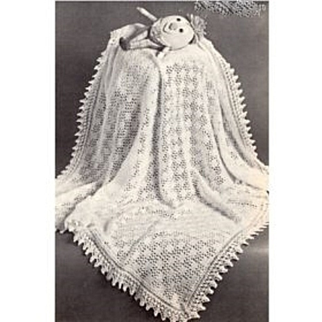Instant PDF Digital Download Vintage Knitting Pattern Baby Babies Baby's 2 ply