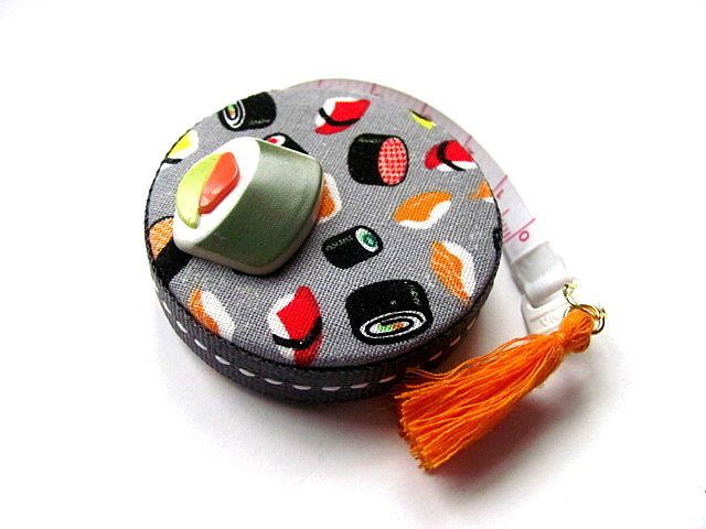 Tape Measure Sushi Japanese Food Fabric Retractable Measuring Tape