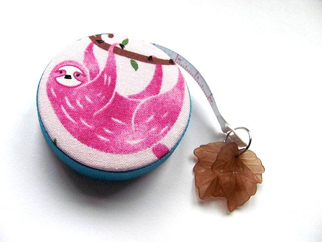 Tape Measure Tree Sloths Retractable Measuring Tape