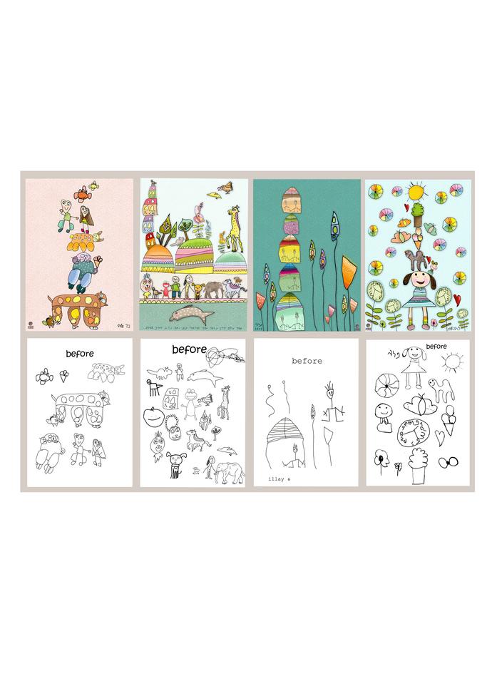 Yeladoodles (kid's doodls)