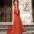 Sexy Mermaid Slit Backless Jersey Sleeveless Pleated Prom Dresses J3620