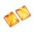Natural Citrine Faceted Emerald Cut 12x10 MM Flawless  Loose Semi Precious