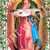 "Amy Sedaris  - 8"" Celebrity Saint Candle Church Window frame"