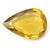 Amazing !Lemon Citrine ( Quartz )Faceted Pear  Loose Semi Precious Gemstone