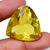 Lemon Citrine ( Quartz )Faceted Pear 30x29  Flawless  Loose Semi Precious