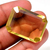 Amazing ! Lemon Citrine ( Quartz ) Faceted Octagon Flawless  Loose Semi Precious