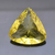 29 mm Lemon Citrine ( Quartz ) Faceted  Heart shape Flawless  Loose Semi
