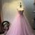 Lovely Pink Tulle Gown with Lace Applique, Charming Sweet 16 Dresses