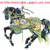 Peacock Carousel Horse Cross Stitch Pattern***LOOK*** ***INSTANT DOWNLOAD***