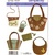 Simplicity 3715 Felt Bags, Purse Sewing Pattern Uncut Accessories Floral Beaded