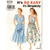 Simplicity 8258 Misses Summer Dress 90s Vintage Sewing Pattern Size 8, 10, 12