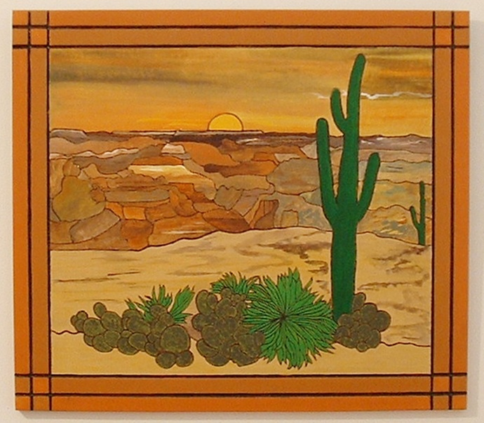 Sunset in the Southwest Canyons, Wood Wall Art, Home Decor
