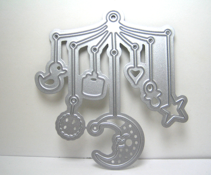 Baby Mobile Metal Cutting Die Style #1