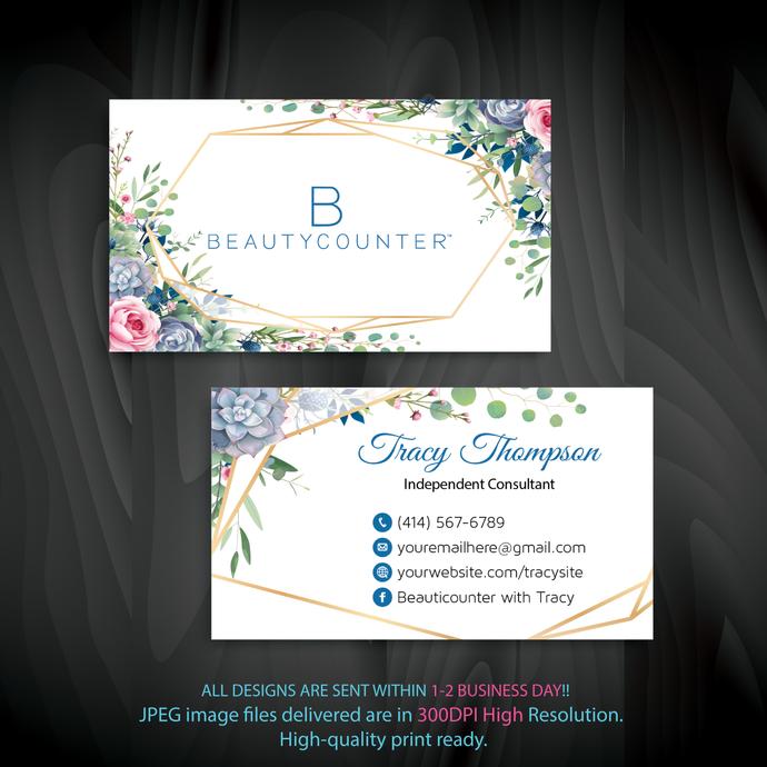 Beautycounter Business Card, Personalized Beautycounter Business Card, Business