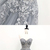 Sweetheart Gray Tulle Flower Lace Applique Long Pageant Prom Dress, Lace Evening