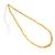 Yellow Sapphire Plain Roundel Hand Polished Precious Gemstone Beads