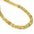 Natural Yellow Sapphire Plain Hand Polished Roundel Semi Precious Gemstone Bead