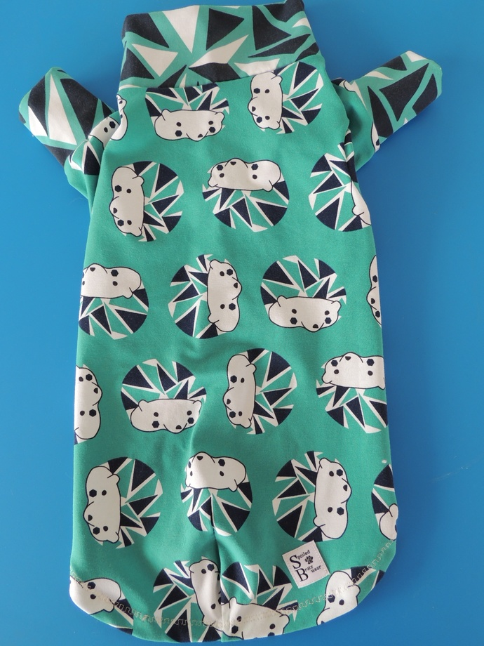 LARGE Modern Hedgehog European Organic Cotton Knit Tshirt