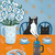 Good Morning Coffee Cats Original Cat Folk Art Painting