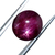 STAR Ruby Hand Polished Precious Oval 11 x 10.50 mm Cabochon Flawless Loose