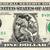 PAUL BUNYAN on a REAL Dollar Bill Cash Money Memorabilia Novelty Collectible