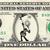 SCARECROW on a REAL Dollar Bill Cash Money Memorabilia Novelty Collectible