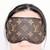 Upcycled LV eyemask - Repurposed Louis Vuitton - Louis Vuitton eyemask - LV