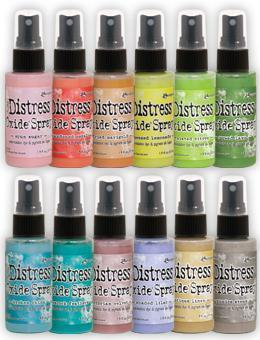 PREORDER Tim Holtz Distress OXIDE Ink Spray Release #2 Complete Set of 12 colors