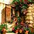 Courtyard Cross Stitch Pattern - Instant Digital Downloadable Pattern